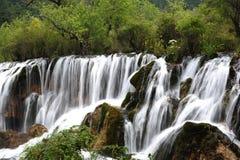 Cascata in Jiuzhaigou Fotografia Stock