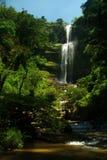 Cascata Juan Curi vicino a San Gil Fotografia Stock
