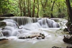 Cascata in Kanchanaburi Immagini Stock