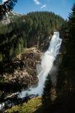 Cascata Krimml della montagna Fotografia Stock
