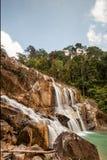 Cascata a Kuantan, Pahang, Malesia Fotografia Stock Libera da Diritti