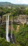 Cascata, Mauritius Fotografie Stock