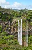 Cascata, Mauritius Immagine Stock