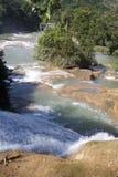 Cascata Messico del azul del Agua Immagine Stock Libera da Diritti