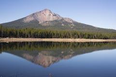 Cascata Mo di McLoughlin la contea di Klamath Oregon del supporto del lago quattro mile Fotografia Stock