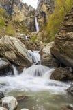 Cascata Muchug Il più alta cascata nell'Azerbaigian Fotografia Stock