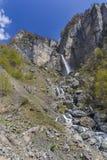 Cascata Muchug Il più alta cascata nell'Azerbaigian Immagine Stock