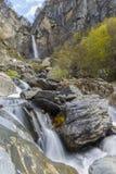 Cascata Muchug Il più alta cascata nell'Azerbaigian Fotografie Stock