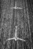 Cascata nel centro commerciale del Dubai Fotografie Stock Libere da Diritti