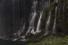 Cascata nel Giappone vicino al Mt Fuji Immagine Stock