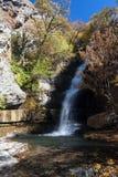 Cascata nel parco della riserva di Khosrov Immagine Stock Libera da Diritti