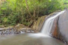 Cascata nel parco nazionale, cascata di PaLa U immagine stock
