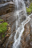 Cascata nel parco nazionale di Hohe Tauern Fotografia Stock Libera da Diritti
