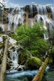 Cascata nel parco nazionale di Jiuzhaigou, fotografia stock libera da diritti