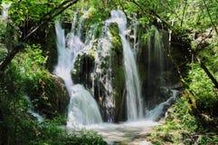 Cascata nel parco nazionale di Jiuzhaigou fotografie stock