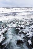 Cascata nel parco nazionale di Thingvellir, Islanda Immagine Stock