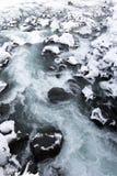 Cascata nel parco nazionale di Thingvellir, Islanda Immagini Stock