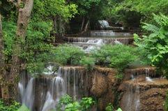 Cascata nella foresta. Immagini Stock Libere da Diritti