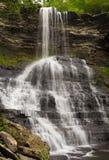 Cascata nelle cascate la contea di Giles la Virginia Immagine Stock Libera da Diritti