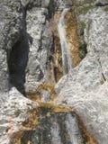 Cascata nelle dolomia Fotografia Stock