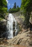 Cascata nelle montagne della Bulgaria Fotografie Stock Libere da Diritti