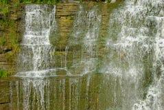 Cascata nello Stato di New York Superiore. Fotografie Stock