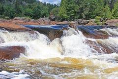 Cascata nordica di Ontario Fotografia Stock