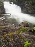 Cascata norvegese Immagini Stock