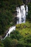 Cascata in Norvegia Immagini Stock