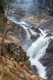 Cascata in Norvegia Fotografia Stock