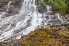 Cascata in Norvegia Immagini Stock Libere da Diritti