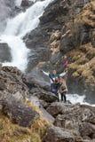 Cascata in Norvegia Immagine Stock