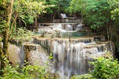Cascata piacevole in Tailandia Fotografie Stock