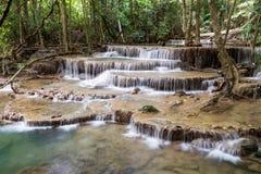 Cascata piacevole in Tailandia Fotografie Stock Libere da Diritti