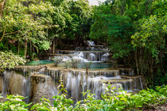 Cascata piacevole in Tailandia Fotografia Stock Libera da Diritti
