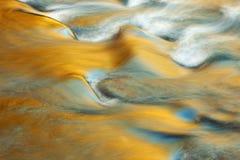 Cascata piccola del fiume del piccione Fotografia Stock