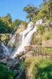 Cascata principale di Mae Klang Waterfall Fotografie Stock