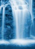 Cascata procedente in sequenza Immagine Stock