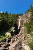 Cascata Regina del Lago - Adamello Trento Italia Immagini Stock