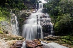 Cascata Rio de Janeiro di velo della sposa immagini stock libere da diritti