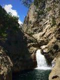 Cascata rocciosa Immagini Stock