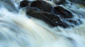 Cascata rocciosa Fotografie Stock