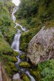 Cascata Saut a Valle Pesio Fotografia Stock