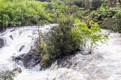 Cascata su Hana Highway fotografia stock libera da diritti