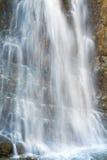 Cascata sulla foresta della montagna Fotografia Stock Libera da Diritti