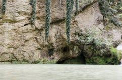 Cascata Sunlit immagine stock libera da diritti