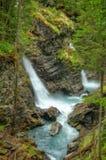 Cascata svizzera Fotografia Stock Libera da Diritti