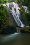 Cascata in Tailandia. Fotografie Stock