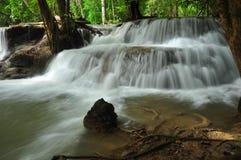 Cascata in Tailandia Immagine Stock