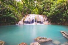 Cascata in Tailandia immagine stock libera da diritti